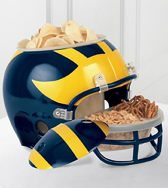 University of Michigan™ Wolverines™ Football Snack Helmet