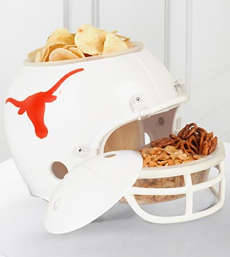 University of Texas® Longhorns® Football Snack Helmet