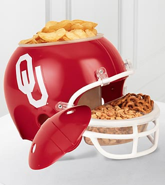 University of Oklahoma® Sooners® Football Snack Helmet