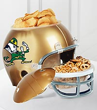 Notre Dame® Fighting Irish™ Football Snack Helmet