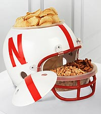 University of Nebraska® Huskers® Football Snack Helmet