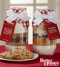 Better Homes and Gardens ® All Set for Santa Cookie Mixes