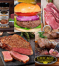 Chicago Steak Company™ Classic American Griller