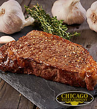 Chicago Steak Company™ Premium Angus Boneless strips