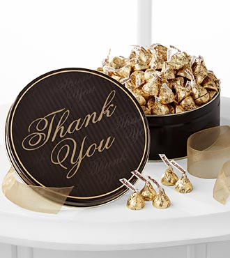 Thank You Tin with Hershey's® Chocolates