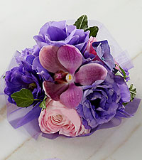 The FTD ® Purple Dusk™ Corsage