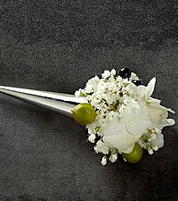 The FTD ® Nottingham™ Boutonniere