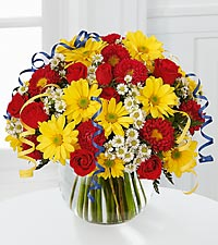 Le bouquet All for You™ de FTD� avec vase