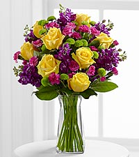The Happy Times™ Bouquet by FTD ® - VASE INCLUDED