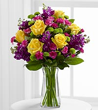 Le bouquet Happy Times<sup>&trade;</sup> de FTD� - VASE INCLUS