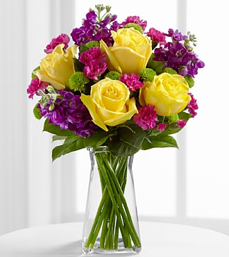 The Happy Times&trade; Bouquet by FTD&reg; - VASE INCLUDED