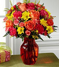 The FTD ® Colors Abound™ Bouquet