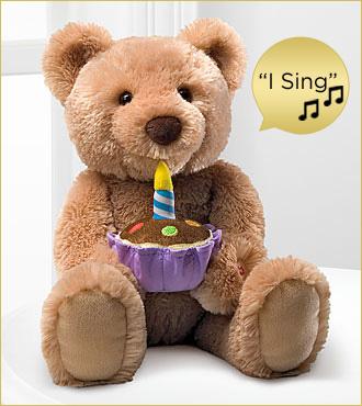 Gund Singing Birthday Bear