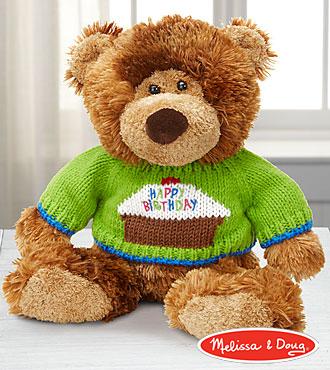Melissa and Doug Birthday Hugs Plush Bear