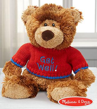 Melissa and Doug� Get Well Hugs Plush Bear