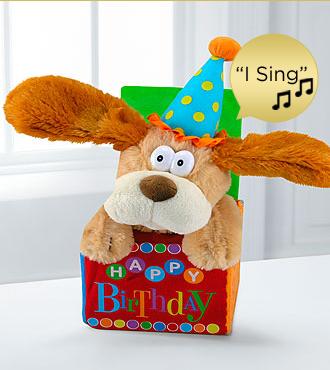 Flappy Birthday Musical Dancing Plush Dog