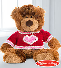 Melissa and Doug ® Love and Hugs Plush Bear