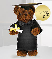 Let's Celebrate Singing & Dancing Graduate Bear