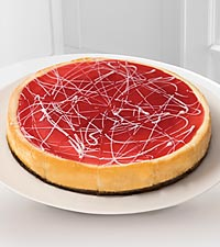 Eli ® White Chocolate Raspberry Cheesecake
