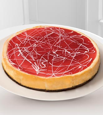 Eli's&reg; White Chocolate Raspberry Cheesecake