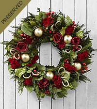 Deck the Halls Everlasting Holiday Wreath