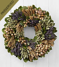 Captivating Comforts Dried & Preserved Organic Wreath
