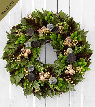 Garden's Gifts Dried & Preserved Wreath