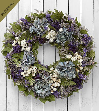 Endless Skies Dried & Preserved Wreath