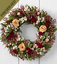 Spring Sights Dried & Preserved Wreath