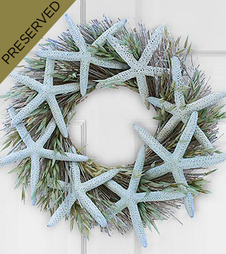 Seaside Musings Dried & Preserved Wreath