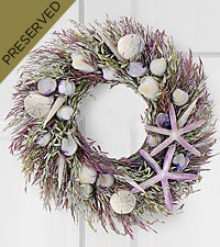 Ocean Breezes Dried & Preserved Wreath