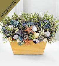 Turn of the Tides Dried & Preserved Arrangement