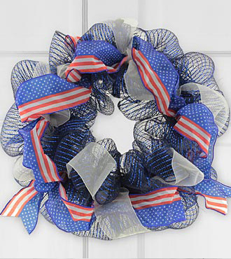 Pride of America Patriotic Wreath