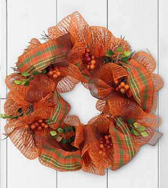 Autumn Awakenings Harvest Wreath