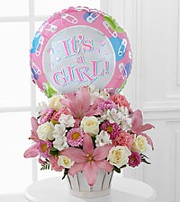 The Girls Are Great!™ Bouquet by FTD® - BASKET INCLUDED