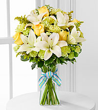 The Boy-Oh-Boy&trade; Bouquet by FTD&reg; - VASE INCLUDED
