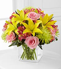 Le bouquet �&nbsp;Well Done&nbsp;�<sup>&trade;</sup> de FTD� - VASE INCLUS
