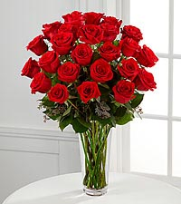The Long Stem Red Rose Bouquet by FTD ®