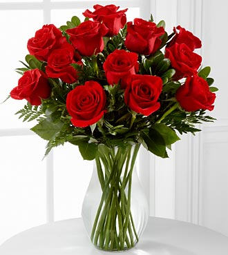 The Blooming Masterpiece&trade; Bouquet by FTD&reg; - VASE INCLUDED