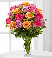 The Pure Enchantment™ Rose Bouquet by FTD ® - VASE INCLUDED