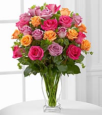 Le bouquet de roses Pure Enchantment<sup>&trade;</sup> de FTD� - VASE INCLUS