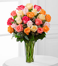 Le bouquet de roses Graceful Grandeur<sup>&trade;</sup> de FTD� - VASE INCLUS