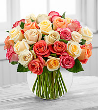 The Sundance&trade; Rose Bouquet by FTD&reg; - VASE INCLUDED
