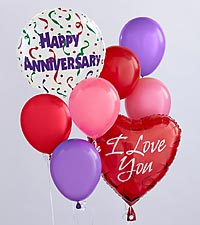 The Anniversary Balloon Bunch by FTD&reg;