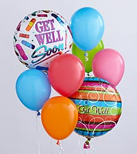 The Get Well Balloon Bunch by FTD ®