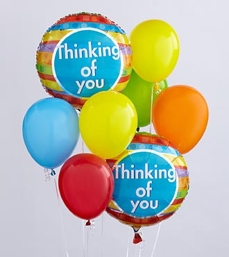 The Thinking of You Balloon Bunch by FTD&reg;