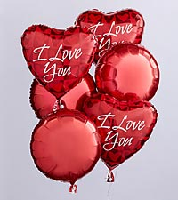 I Love You Balloon Bunch by FTD®