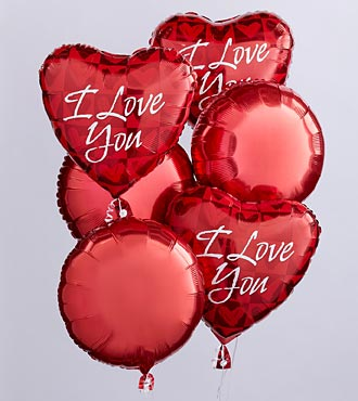I Love You Balloon Bunch by FTD&reg;