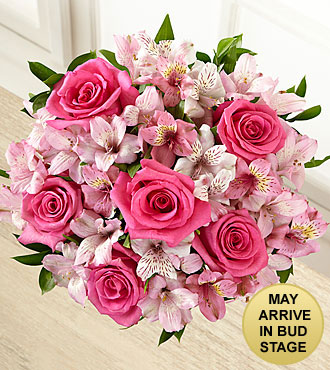 Dreamland Pink Bouquet - 14 Stems, no vase