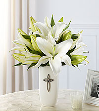 The FTD ® Faithful Blessings™ Bouquet - VASE INCLUDED